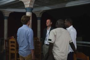 Ghislain Poissonnier (Ambassade de France), Docteur Sow (GMF), Mr Gubbini (Canope Groupe).